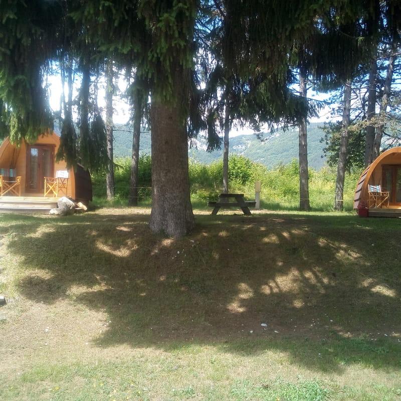 Les Cabanes Pods