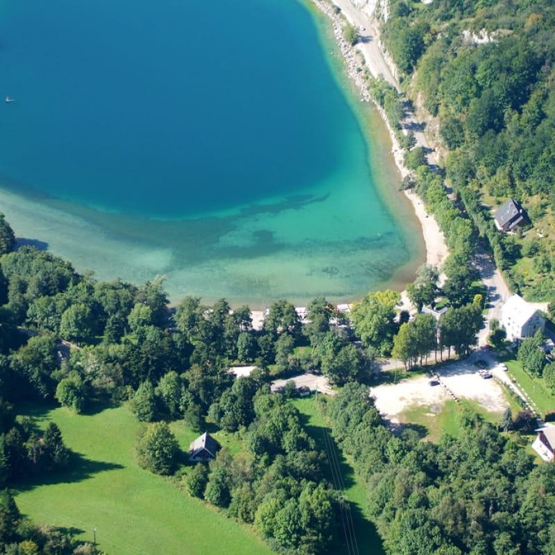 Lac de Laffrey-Plage nord