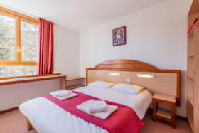 Chambre double Hotel Club Savoie