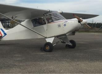 Aérodrome de Sollières ULM et avion léger
