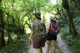 randonnée en Bugey à deux