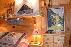 LE GRENIER : Véritable coup de coeur pour ce chalet à St Gervais les Bains (Haute-Savoie)
