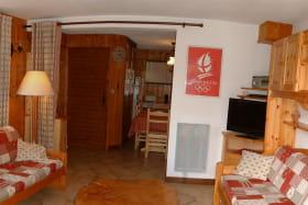le salon et deux couchages