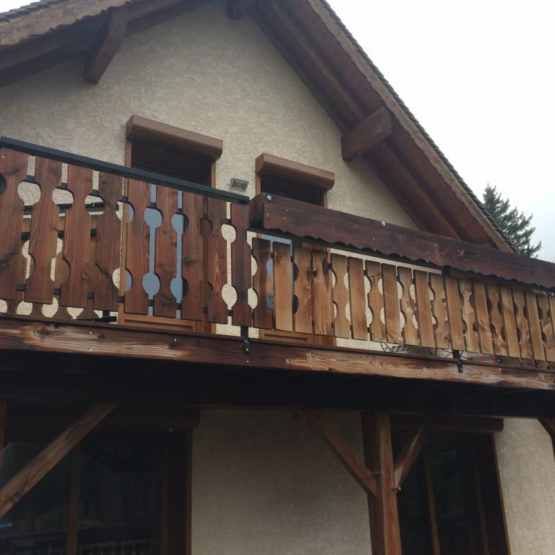 balcon en façade