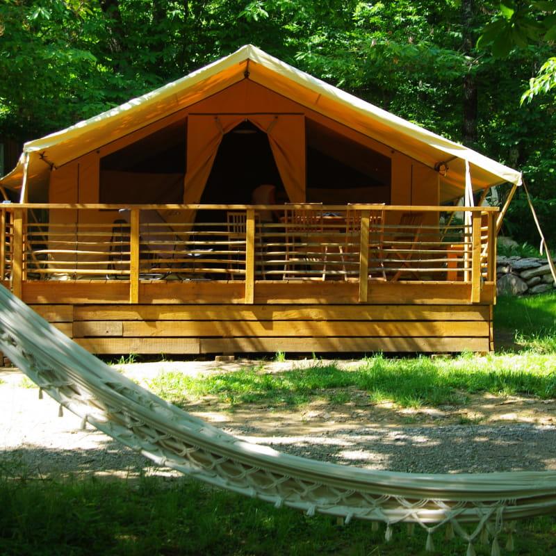 Camping La Châtaigneraie - Tente lodge