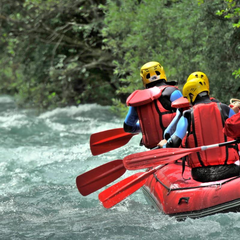 Rafting avec J'Aime Sport