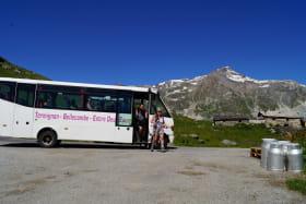 Service de rando bus vers le coeur du Parc national de la Vanoise