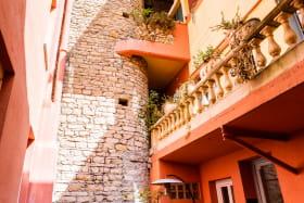 Hôtel Au Patio Morand - Le patio