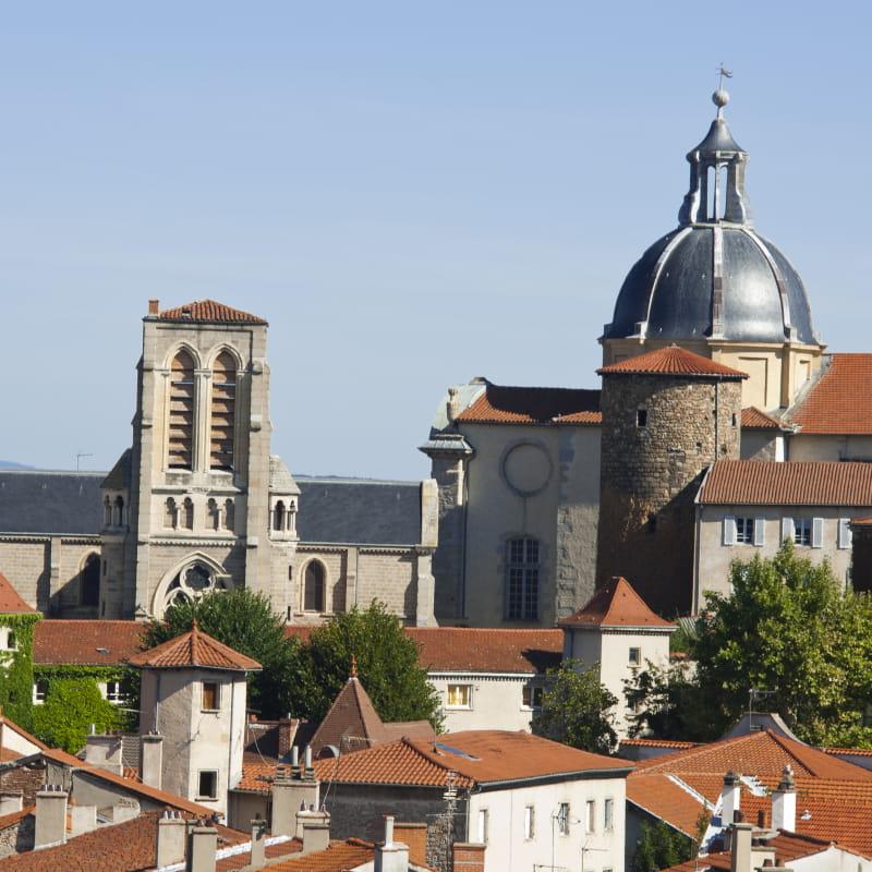 Montbrison, capitale historique du Forez
