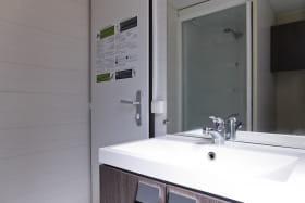 Salle de bain d'un mobilhome