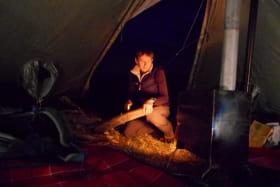 Balade-goûter ou Balade-nuitée sous la tente Tchoum