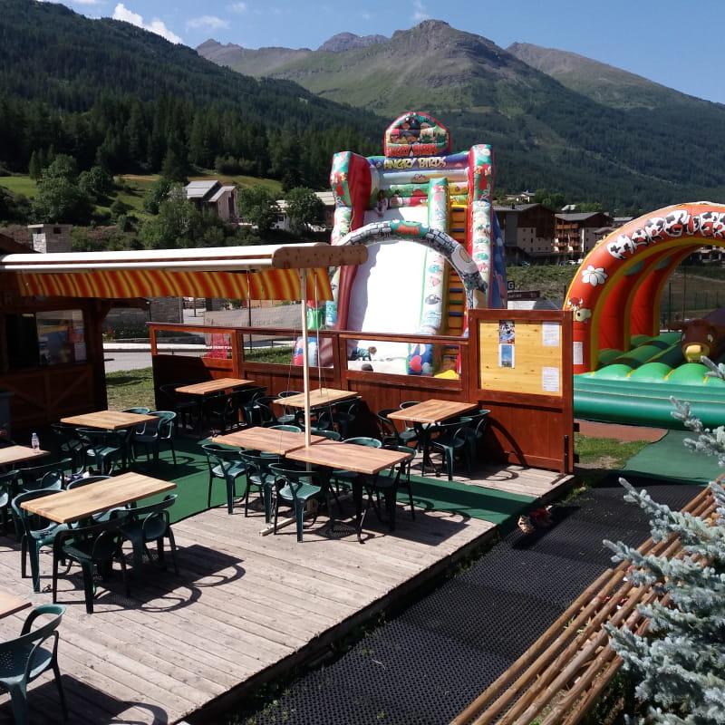 Espace jeux pour enfants : la Bulle de Loisirs à Val Cenis-Lanslevillard