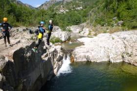 Canyon 1/2 journée famille - GECCO Aventure