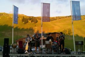 Photo concert 14 juillet Chamrousse