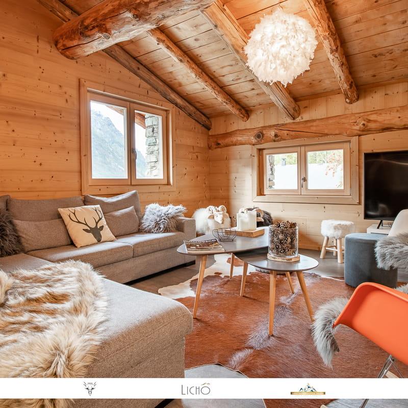 Magnifique appartement style chalet à Bonneval sur Arc.