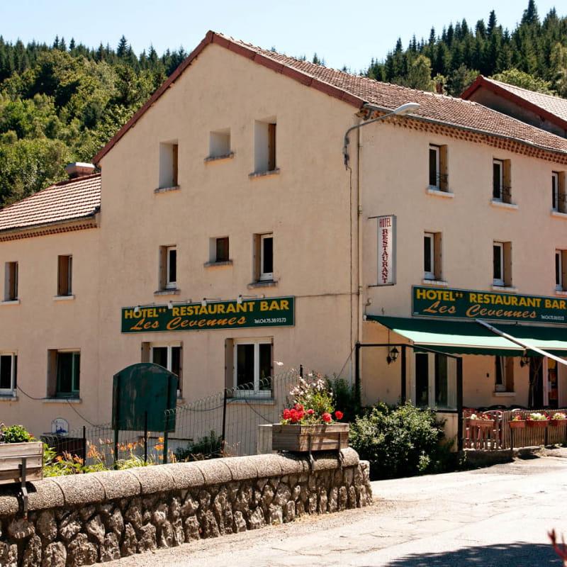 Restaurant  de l'hôtel Les Cévennes