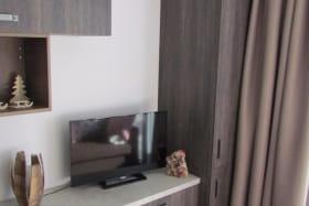 TV, chaîne hifi, lecteur DVD et CD