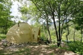 La cabane terre paille