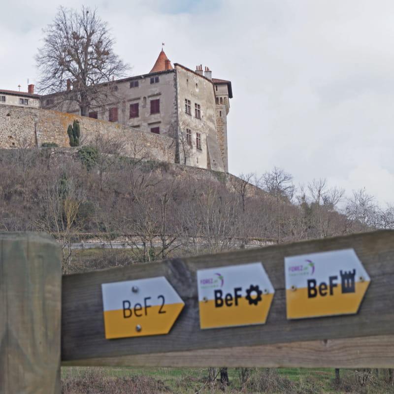 Balises et château