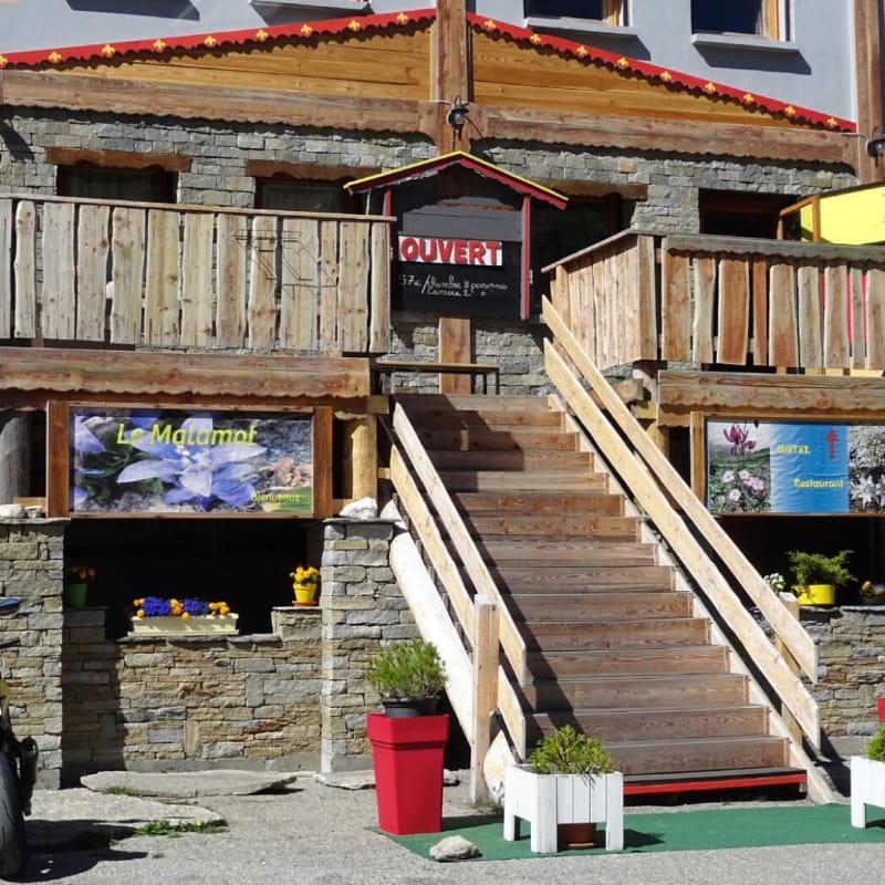 Hôtel Le Malamot entre Val Cenis et l'Italie