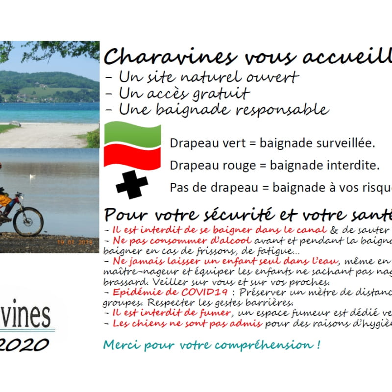 Informations plage