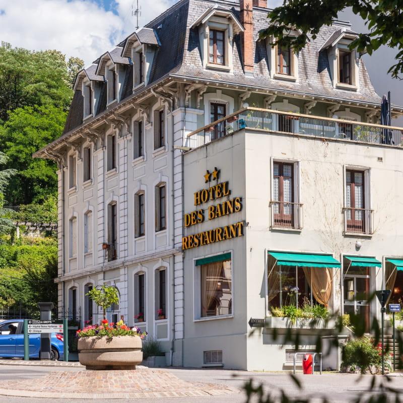 Hotel des Bains - Façade principal