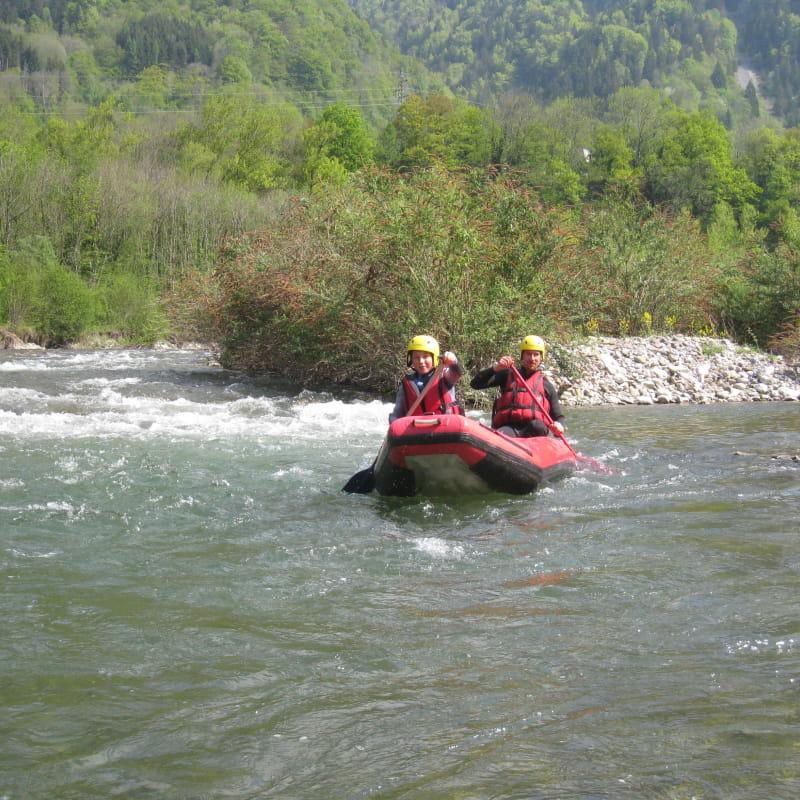 Canoë Fier-Giffre et Chéran