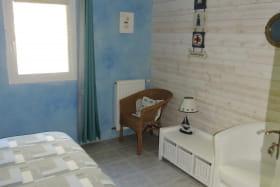Chambres d'hôtes La Bergerie à Lussas - Chambre Sciotot
