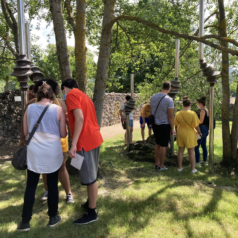 Jeu-énigmes au château de Saint-Saturnin