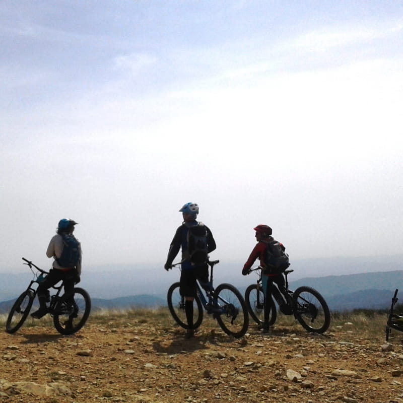Tour du Tanargue à VTT