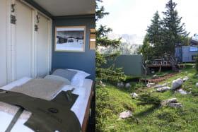 Shelters Là Haut : abris en montagne