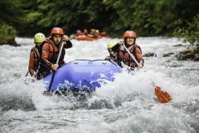 Sortie rafting sur la rivière du Giffre