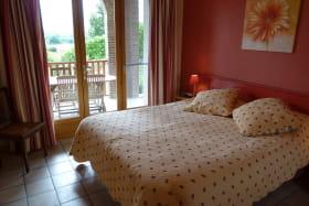 Gîte de Maulmont - Saint-Priest-Bramefant - chambre 1