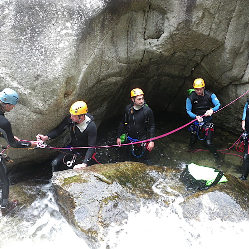 Canyoning - Loulou Bateaux