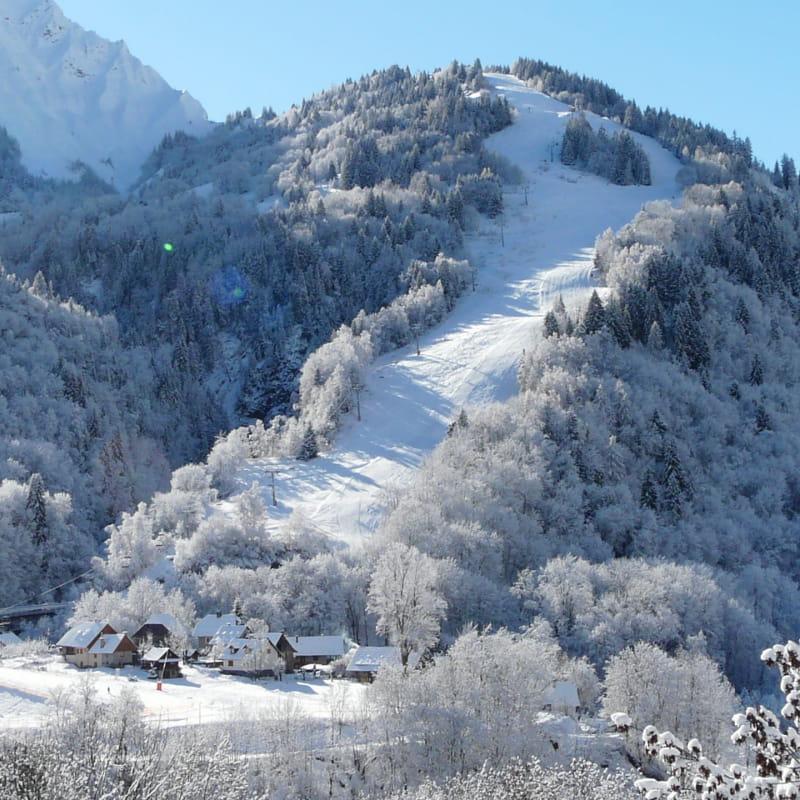 Piste de ski St Colomban des Villards