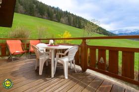 terrasse attenante au séjour orientée sud-est