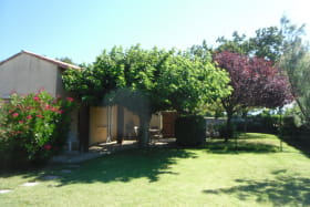 Terrasse depuis le jardin