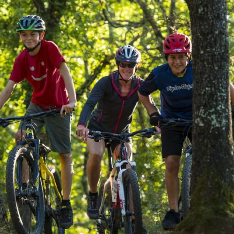 Bois de Païolive - Ardèche Vélo