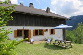 le chalet avec terrasse privative