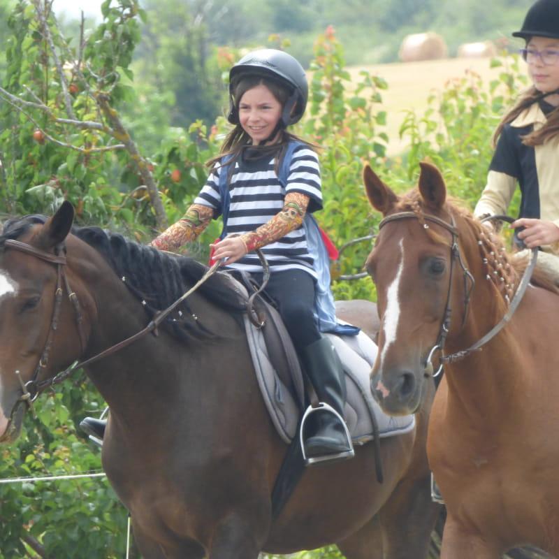 Balade enfants des Ecuries de Longchamp