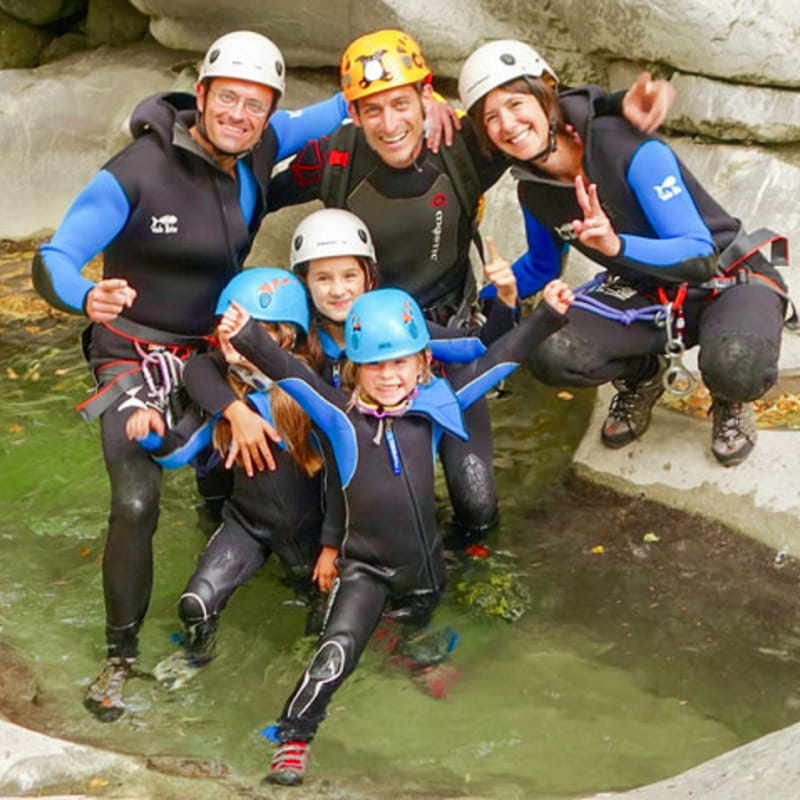 Canyon famille