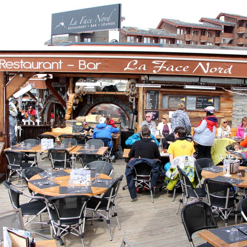Terrasse restaurant la Face Nord