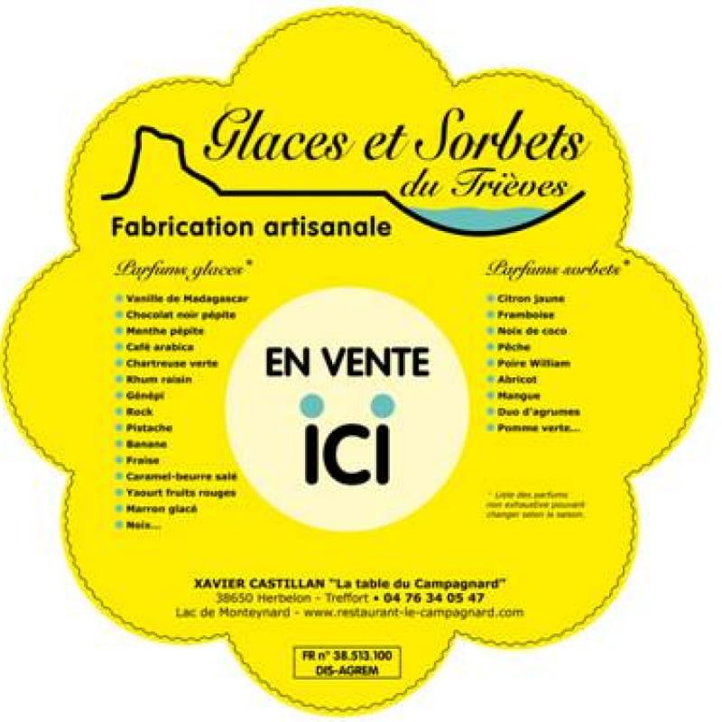 Glaces et Sorbets du Trièves Restaurant Bar Glacier