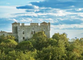 Château des Roure et sa magnanerie