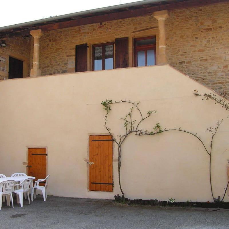 Le Gîte des Tuillières à Bagnols, dans le Beaujolais - Rhône.