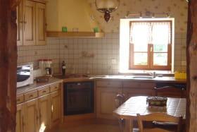 Maison Gite des eaux Nébouzat cuisine