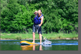 Watergames - Téléski nautique - Stand up Paddle