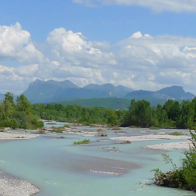 Entonnement réserve naturelle des Ramières