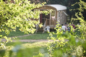 Camping de Lyon - Une roulotte