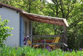 Terrasse ombragé et couverte